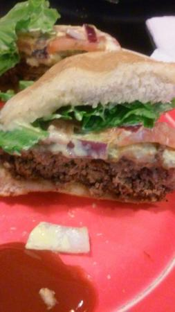 BW's Grill: 1st Bison Burger absolutely fabulous it was tastey, lean, juicey, savory. Don't forget the mixed