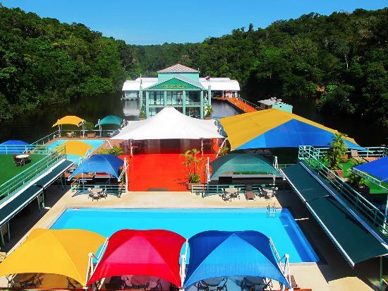 Amazon Jungle Palace: Vista da piscina adulto