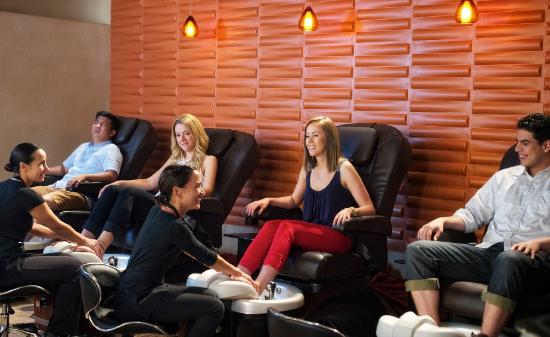 Tamaya Mist Spa & Salon: Group Pedi at Tamaya Mist
