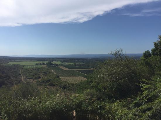 Addo, Sør-Afrika: Blick vom Garten