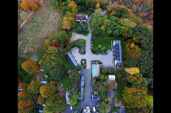 Rowley, MA: Overhead Drone Shot of our acerage.