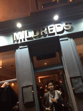 Mildred's: The Entrance of Happiness