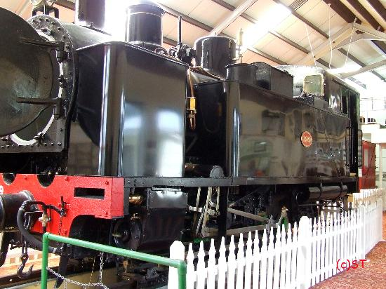 Fell Locomotive Museum: No 199 Mont Cenis
