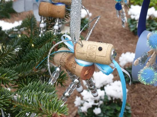 Longwood Gardens Christmas Decorations in Childrens Greenhouse