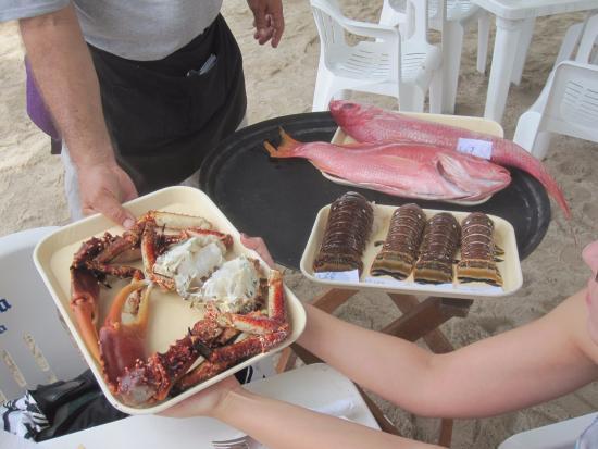 Alberto's Beach: Fresh Seafood