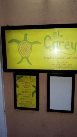 El Carey Cafe & Beach Shop: El Carey Good Food Good people - say Hi to Rudy