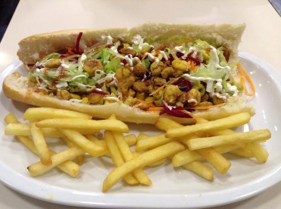 Nou AIibaba Barcelona Sandwiches, Burgers & Salads: My favorite shrimp sandwich!!! :D