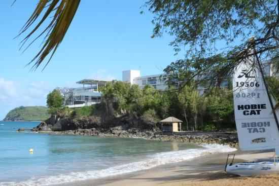 Utsikt picture of langley resort hotel fort royal for Hotels guadeloupe