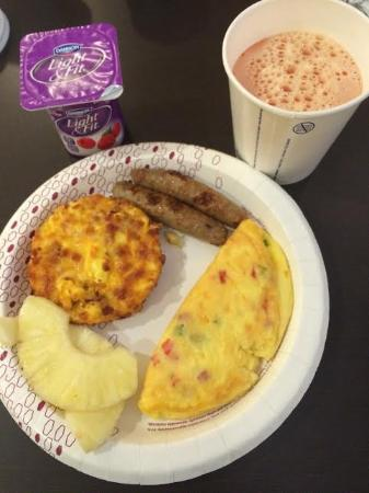 Hampton Inn Salt Lake City-Downtown: Breakfast.
