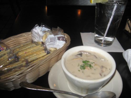 Bistro at the Bijou: Mushroom soup
