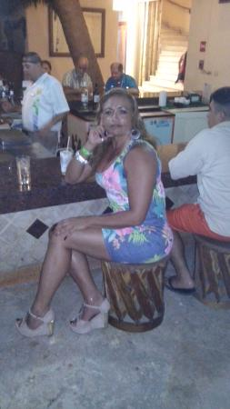 Las Palmas by the Sea: En el bar del loby