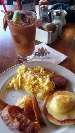 brunch at duke s waikiki with a bacon bloody mary picture of rh tripadvisor co nz