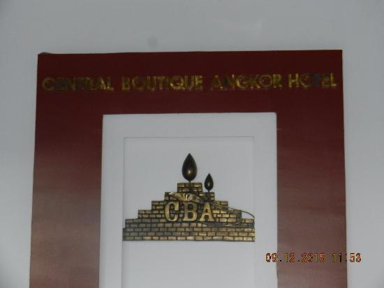 Central Boutique Angkor Hotel: ingresso