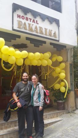 Hostal Pakarina: felices y vuelvan pronto