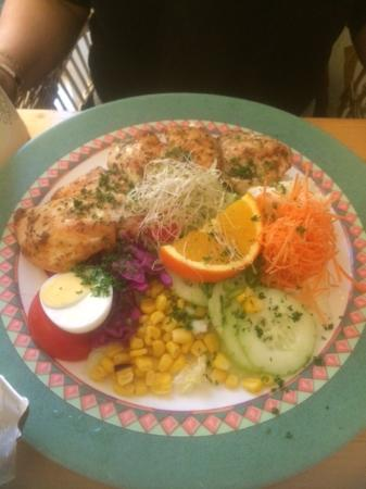Meir, Belgia: Moments (chicken salad)