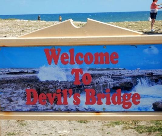 Lawrence of Antigua Tours : Devil's!!