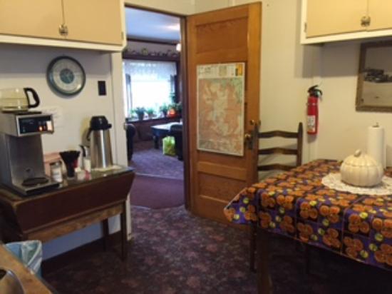 Kremmling, CO: Coffee Room