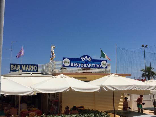 panoramica - Foto di Bar Ristorante Mario, Riccione - TripAdvisor