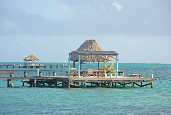 Pelican Reef Villas Resort: one of the neighboring docks - love this water!
