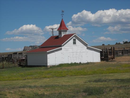The Historic Beckwith Ranch: Barn