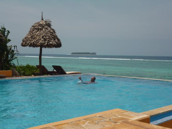 Kasha Boutique Luxury Hotel: PISCINA+ISOLA MNEMBA