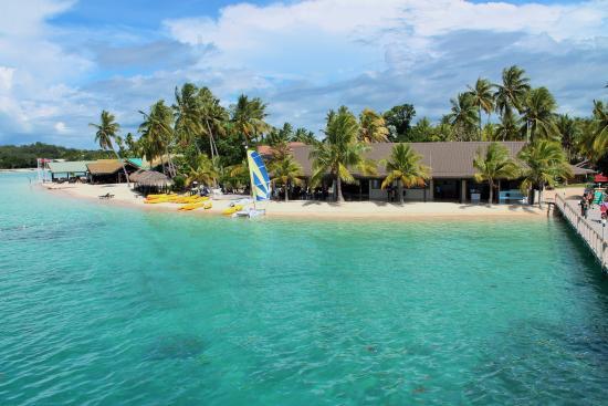 Plantation Island Resort: Plantation upon arrival