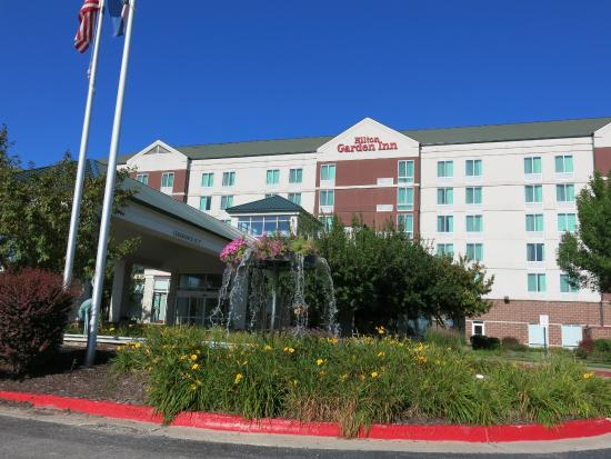 Front Of Hotel Picture Of Hilton Garden Inn Independence Independence Tripadvisor