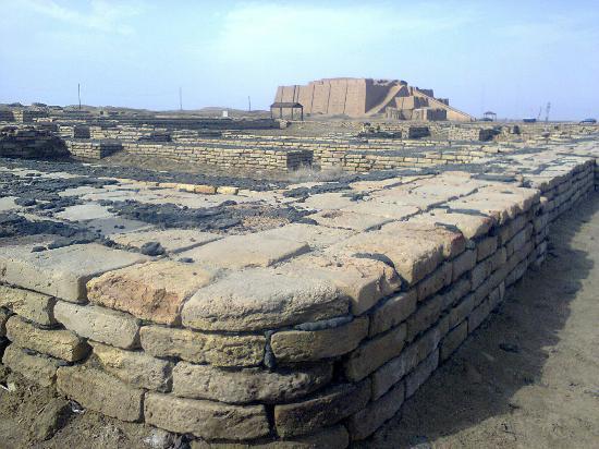 Nasiriyah, Irak: Ziggurat of UR