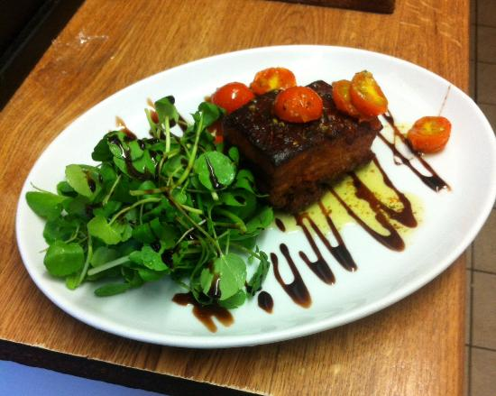 Parkend, UK: Slow Roasted Belly Pork