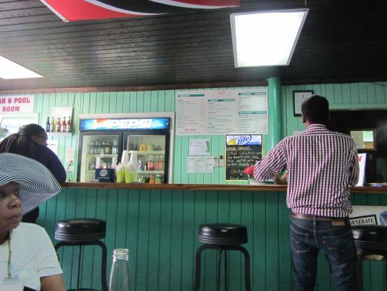 Drink menu picture of singh 39 s roti shop bar george for Roti food bar