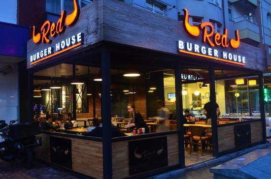 mekan d g r n m picture of red burger house eskisehir tripadvisor. Black Bedroom Furniture Sets. Home Design Ideas