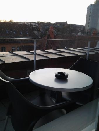 Sternen Oerlikon Hotel: balcone