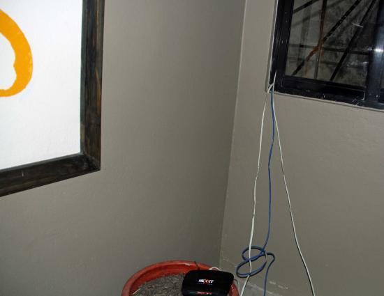 Urban Cabana: coin de couloir accés aux chambres