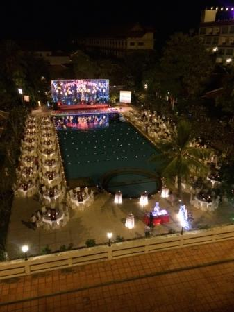 Royal Angkor Resort & Spa: new years fun