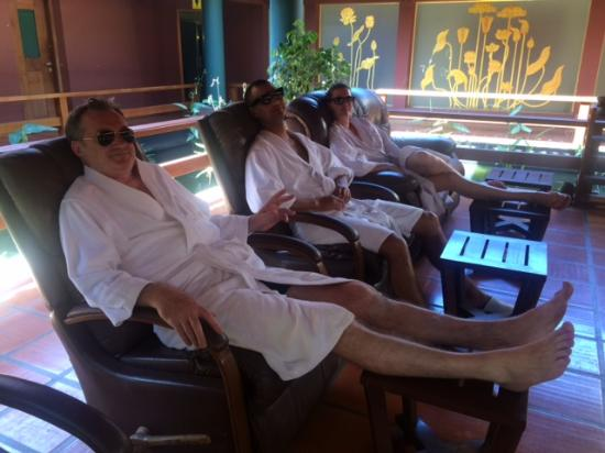 Royal Angkor Resort & Spa: massage, it would be rude not to