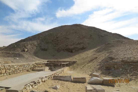 Saqqara, מצרים: a Pirâmide com estrada gratuita