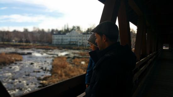 Littleton, NH: Taking in the view