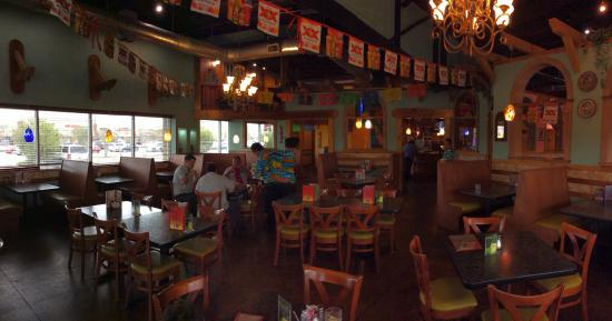 Luna's Mexican Restaurant: The Interior