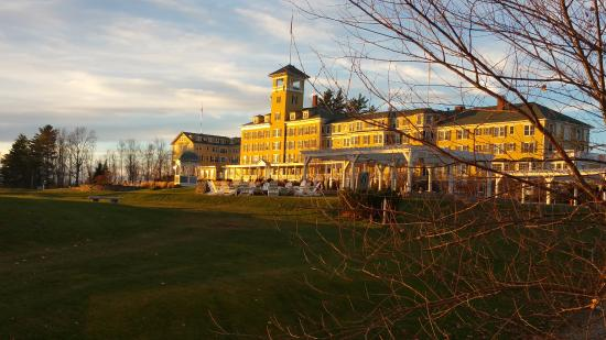 Mountain View Grand Resort & Spa: From the golfing course
