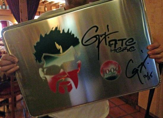 DiGiorgio's Cafe Largo : Guy Fieri Painting