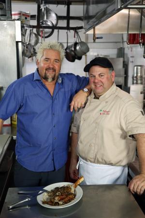 DiGiorgio's Cafe Largo: Guy Fieri, Robert DiGiorgio
