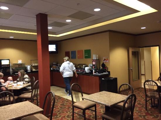 Blytheville, Арканзас: Breakfast room