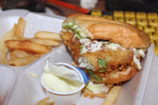 LaGrange, GA: captain sandwich and fries -$5.00