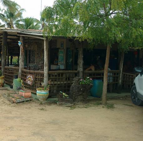 Vista externa do restaurante
