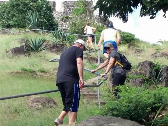 Oyster Pond, St. Maarten: Climbing