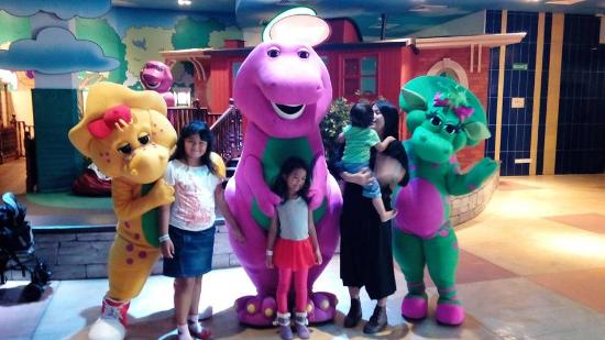 Foto bareng barney and friend picture of the little big - The little club ...