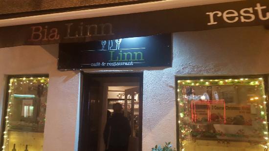 Loughrea, İrlanda: Bia Linn Cafe & Restaurant