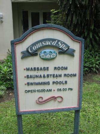 ComSaed River Kwai Resort : สปา