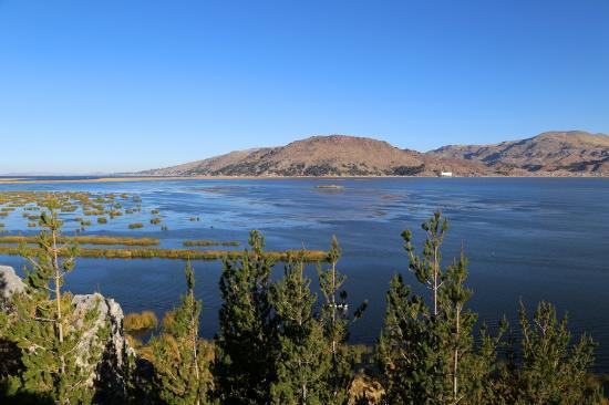 Libertador Lake Titicaca: view