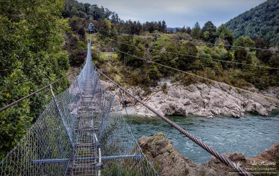 Nelson-Tasman Region, Νέα Ζηλανδία: Buller Gorge Swingbridge